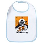 Vintage Trick or Treat Image Bib