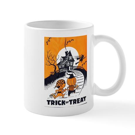 Vintage Trick or Treat Image Mug