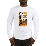 Vintage Trick or Treat Image Long Sleeve T-Shirt