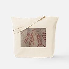 Ritual Dancing Petroglyph Tote Bag