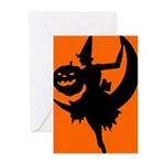 Moon Witch Greeting Cards (Pk of 10)