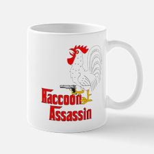 Raccoon Assassin Rooster Mug