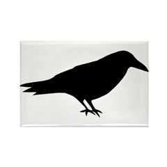 The Raven Rectangle Magnet (100 pack)