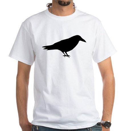 The Raven White T-Shirt