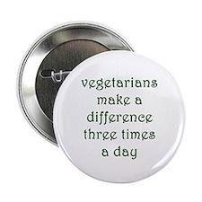 """Vegetarianism 2.25"""" Button"""