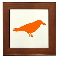 The Raven Framed Tile