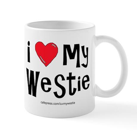 I Love My Westie Mug