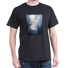 Manatee Black T-Shirt