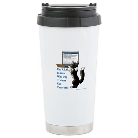 Password Protection Stainless Steel Travel Mug