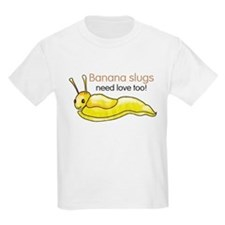 Banana slugs need love too T-Shirt