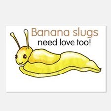 Funny Slugged Postcards (Package of 8)