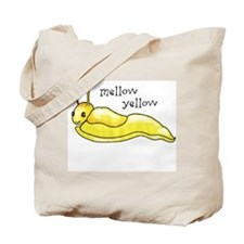 mellow yellow banana slug Tote Bag