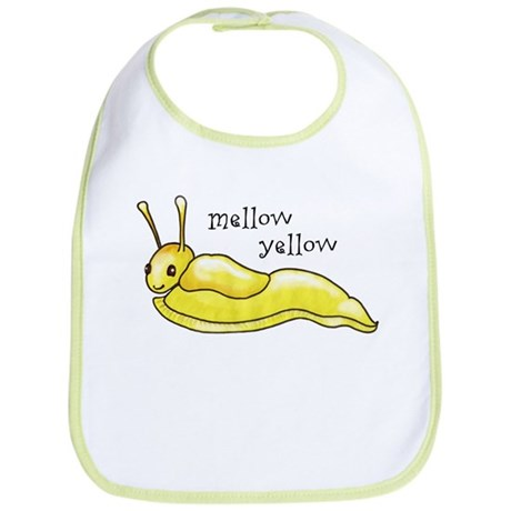 mellow yellow banana slug Bib
