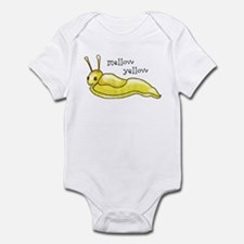mellow yellow banana slug Infant Bodysuit