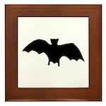 Go Batty Framed Tile
