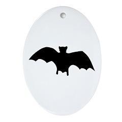 Go Batty Ornament (Oval)