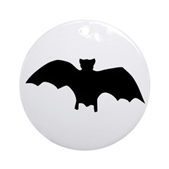 Go Batty Ornament (Round)