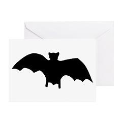 Go Batty Greeting Card