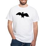 Go Batty White T-Shirt