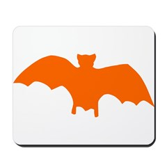 Orange Batty Mousepad