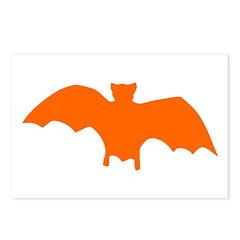 Orange Batty Postcards (Package of 8)
