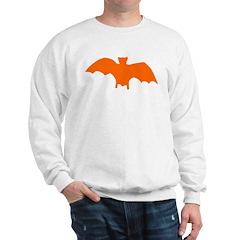 Orange Batty Sweatshirt