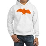 Orange Batty Hooded Sweatshirt