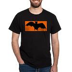 Orange Batty Dark T-Shirt