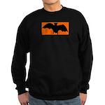 Orange Batty Sweatshirt (dark)