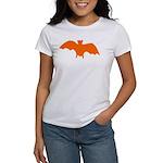 Orange Batty Women's T-Shirt