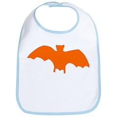 Orange Batty Bib