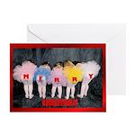 Sugar Plum Fairies Greeting Card