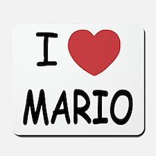 I heart Mario Mousepad