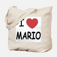 I heart Mario Tote Bag