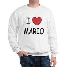 I heart Mario Sweatshirt