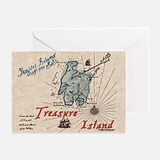 Treasure Island Greeting Cards (Pk of 10)