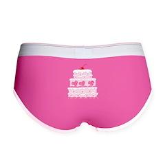 Pink Cake Women's Boy Brief