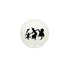 Halloween Dance Mini Button (10 pack)