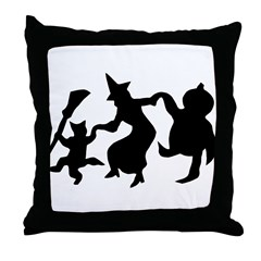 Halloween Dance Throw Pillow