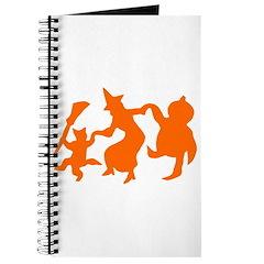 Festive Halloween Dance Journal