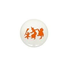 Festive Halloween Dance Mini Button (100 pack)