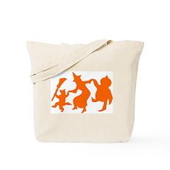 Festive Halloween Dance Tote Bag