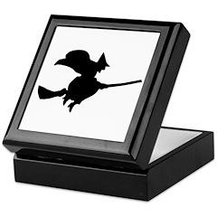 Flying Witch Keepsake Box