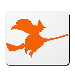 Orange Witch Mousepad
