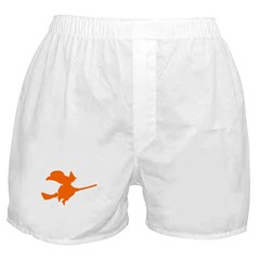 Orange Witch Boxer Shorts