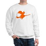 Orange Witch Sweatshirt