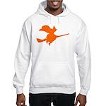 Orange Witch Hooded Sweatshirt