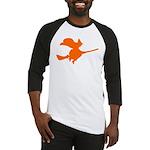 Orange Witch Baseball Jersey