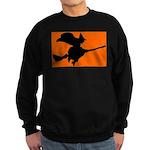 Orange Witch Sweatshirt (dark)