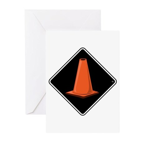 CONE ZONE Cards & Bags Greeting Cards (Pk of 10)